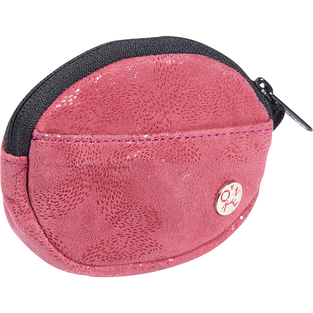 TOKEN Leather Token Coin Purse Red - TOKEN Women's Wallets