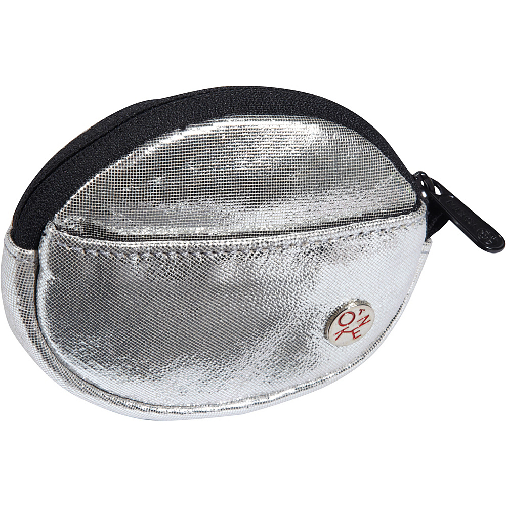 TOKEN Leather Token Coin Purse Silver - TOKEN Women's Wallets
