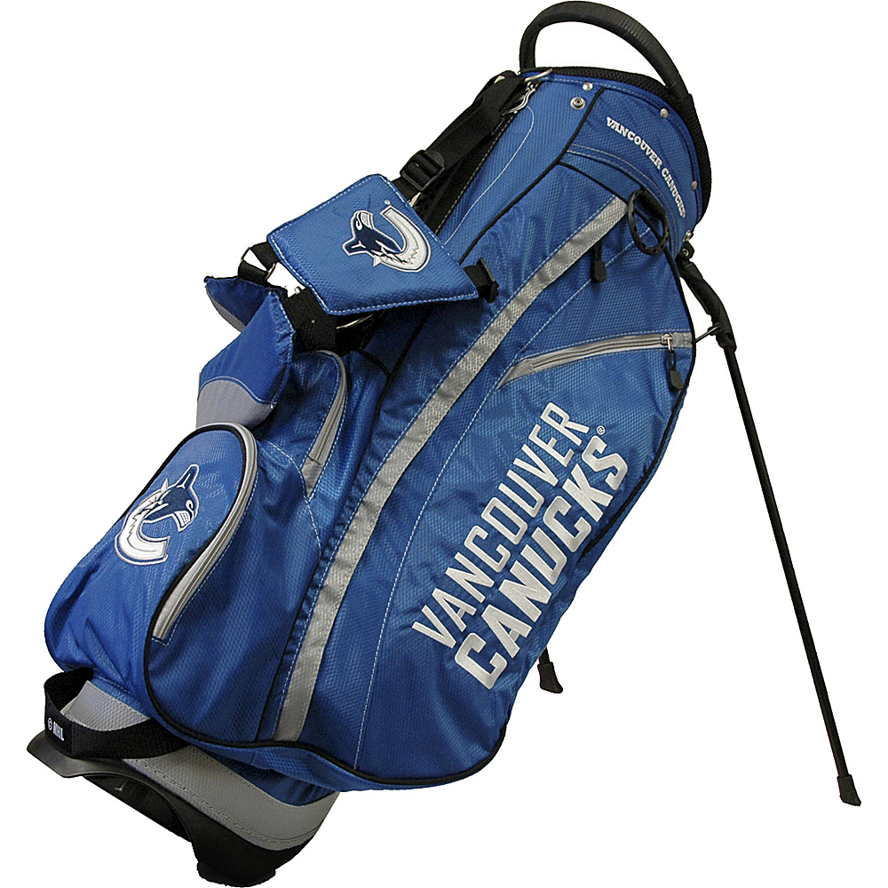 Team Golf USA NHL Vancouver Canucks Fairway Stand Bag Blue - Team Golf USA Golf Bags