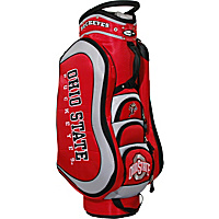 Team Golf NCAA Ohio State University Buckeyes Medalist Cart Bag Red - Team Golf Golf Bags