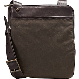 Estate Canvas Courier iPad Bag Olive