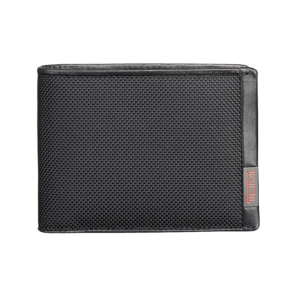 Tumi Alpha Double Billfold Black - Tumi Men's Wallets