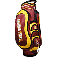 Team Golf NCAA Arizona State University Sun Devils Medalist Cart Bag Red - Team Golf Golf Bags