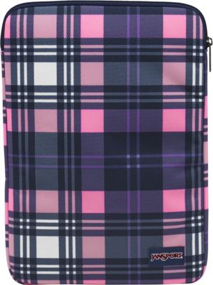 JanSport 13 1.0 Sleeve Pink Pansy Preston Plaid - JanSport Laptop Sleeves