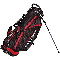 Team Golf NFL Atlanta Falcons Fairway Stand Bag Black - Team Golf Golf Bags