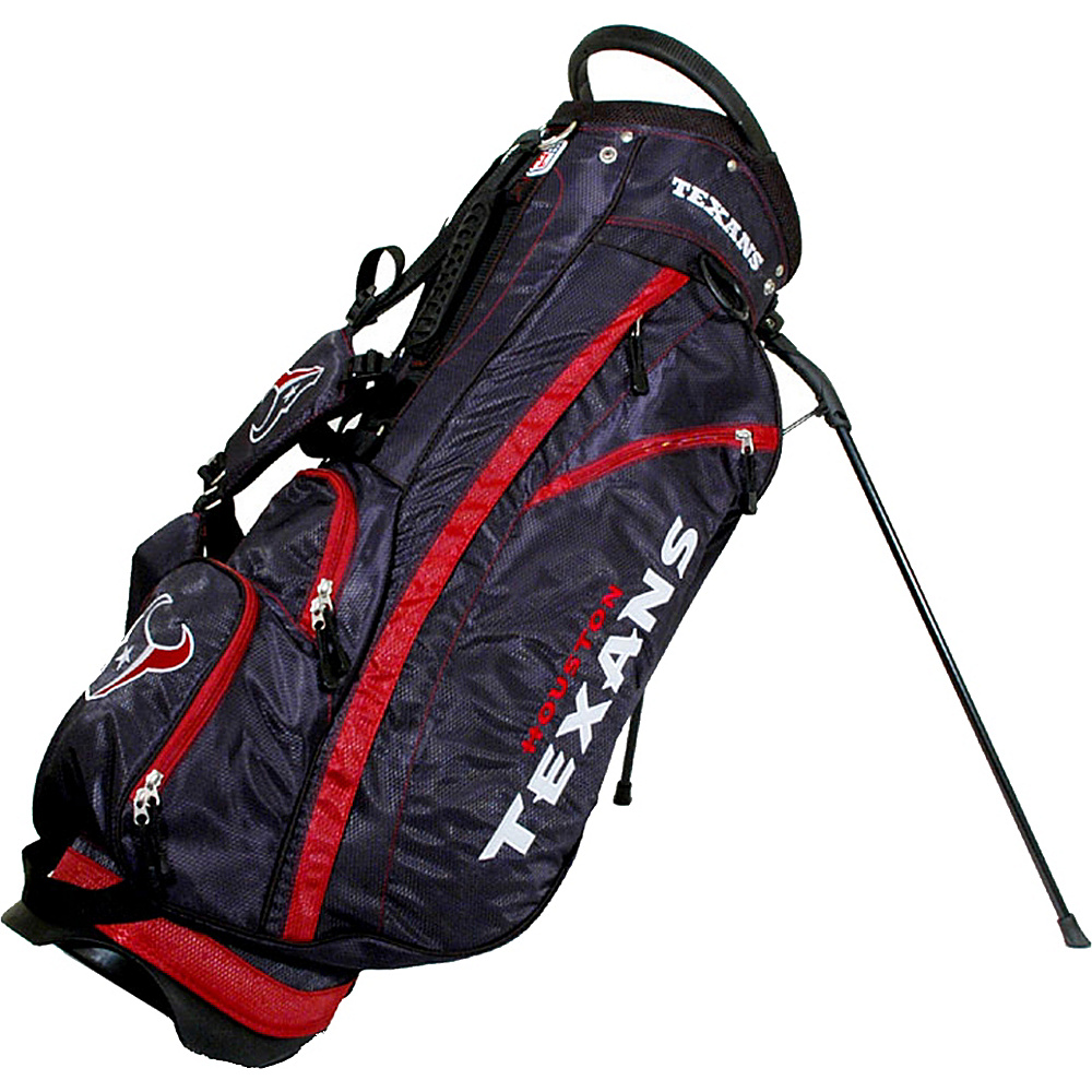Team Golf USA NFL Houston Texans Fairway Stand Bag Blue - Team Golf USA Golf Bags