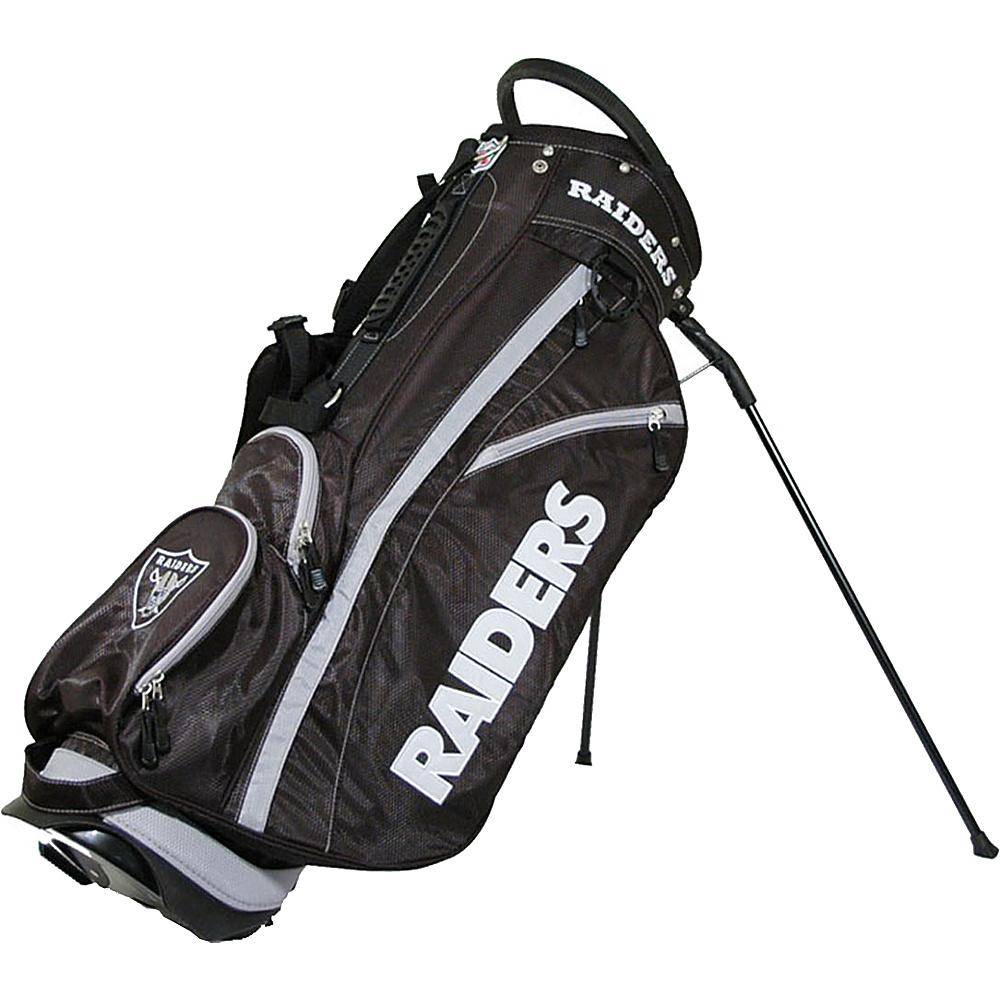 Team Golf USA NFL Oakland Raiders Fairway Stand Bag Black - Team Golf USA Golf Bags