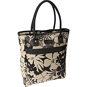 Gem 20'' Tote Bag Black/Tan