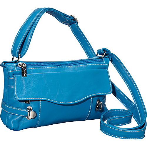 Sydney Love Head Over Heels-Cross Body -Red Light Blue - Sydney Love Manmade Handbags