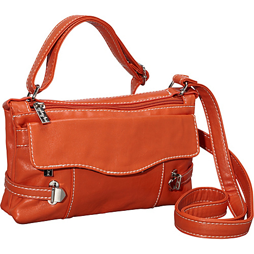 Sydney Love Head Over Heels-Cross Body -Red Orange - Sydney Love Manmade Handbags