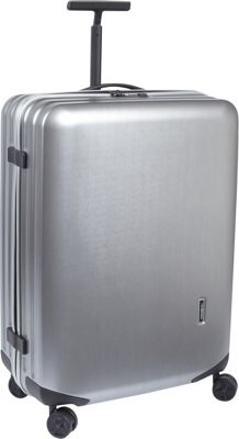 Samsonite Samsonite Inova 28 inch Hardside Spinner Luggage Metallic Silver - Samsonite Hardside Checked