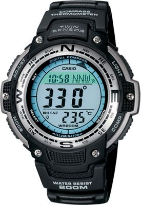 Casio Casio Men's Digital Compass Twin Sensor Sport Watch Black - Casio Watches