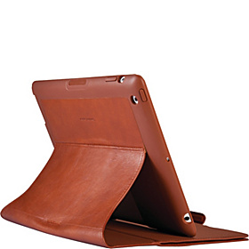 iPad 3rd Generation Wanderfolio Luxe Case  Cognac & Cream