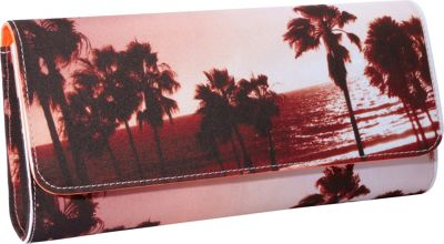 Juicy Couture Palm Tree Print Clutch Palm Tree Print - Juicy Couture Designer Handbags