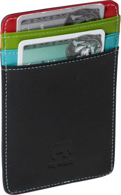MyWalit Upright Credit & Oyster Card Holder Black Pace - MyWalit Men's Wallets