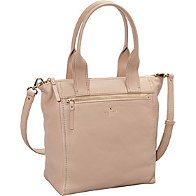 Cobble Hill Courtnee Zip Top Tote Affogato