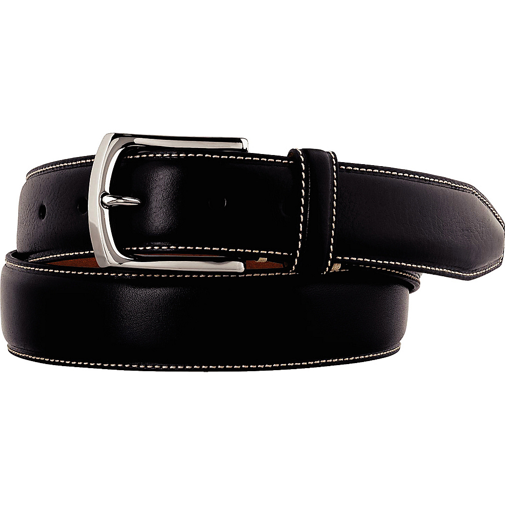Johnston Murphy Topstitched Belt Black Size 44 Johnston Murphy Other Fashion Accessories