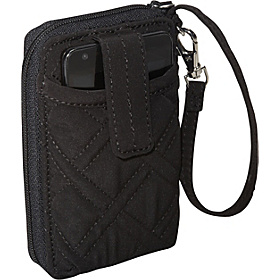 Carry It All Wristlet Black