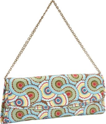 Amy Butler for Kalencom Brenda Clutch with Chain Dancing Umbrellas - Amy Butler for Kalencom Women's Wallets