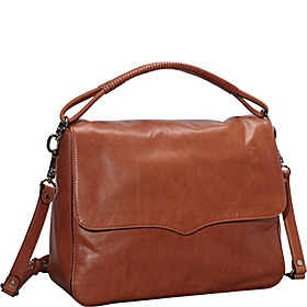 Aiden Flap Hobo Almond