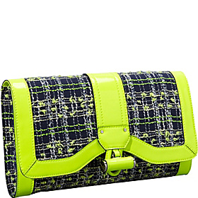 Kiera Tweed Clutch Citrus