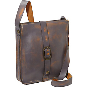 Overdye Venezia Crossbody Pouch Brown Grey