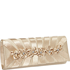 Flower Clutch Gold