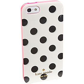 Le Pavillion iPhone 5 Case Black/White/Pink