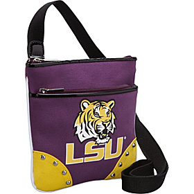 Louisiana State University Cross Body Bag Purple