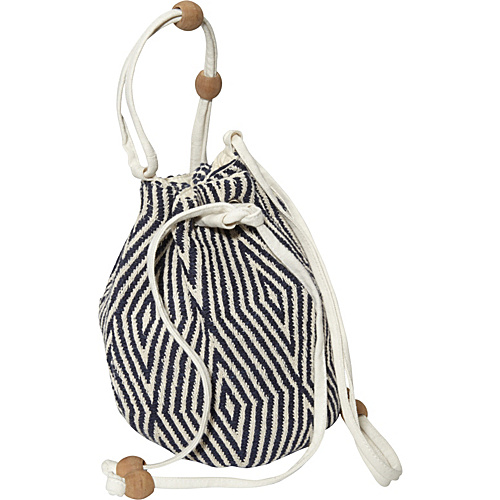Roxy Slow Motion Crossbody Blue Black - Roxy Fabric Handbags