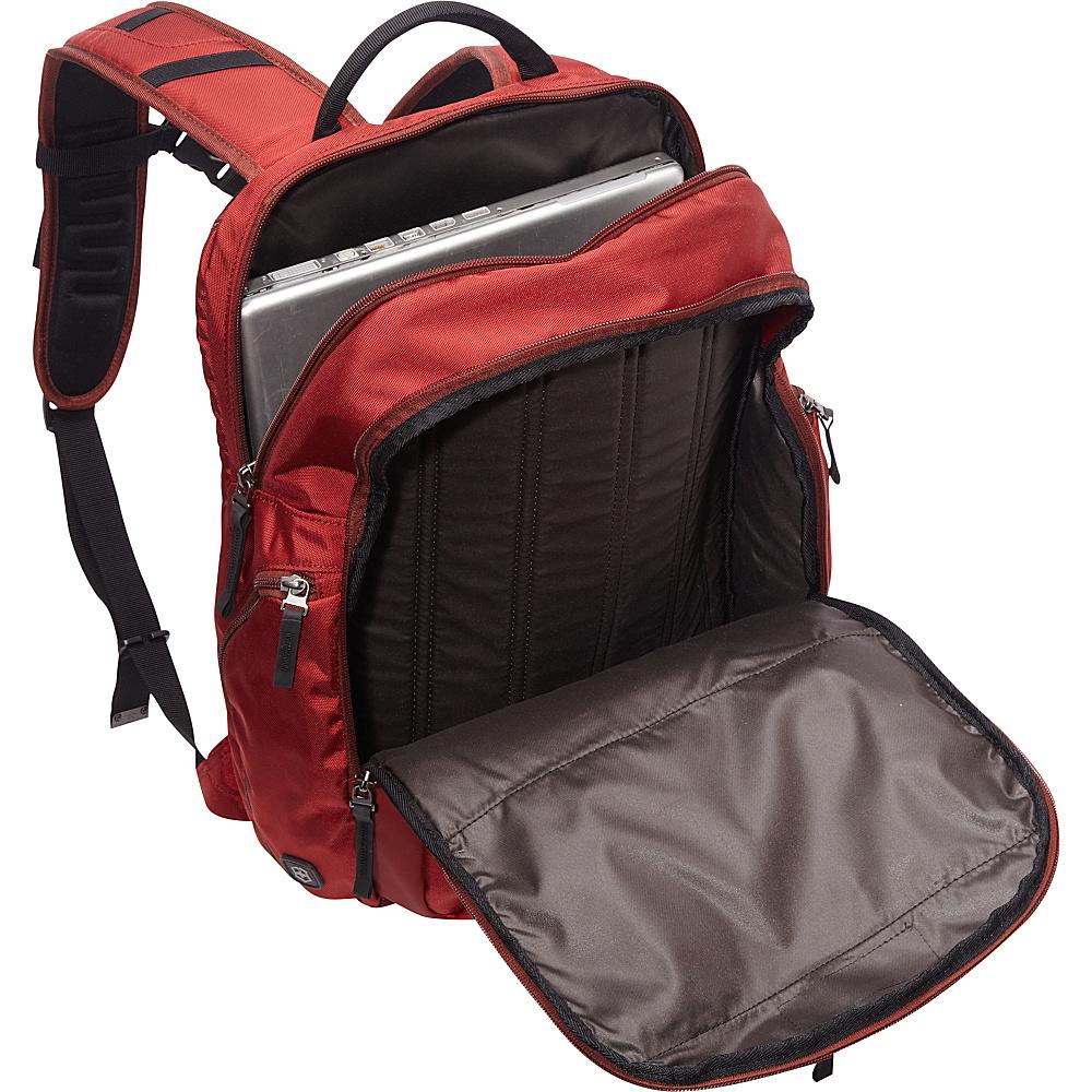 Victorinox Altmont 3.0 Vertical-Zip Laptop Backpack Red - Victorinox Business & Laptop Backpacks