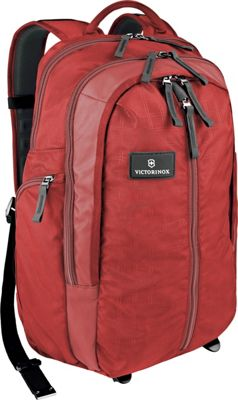 Victorinox Altmont 3.0 Vertical-Zip Laptop Backpack Red - Victorinox Business & Laptop Backpacks