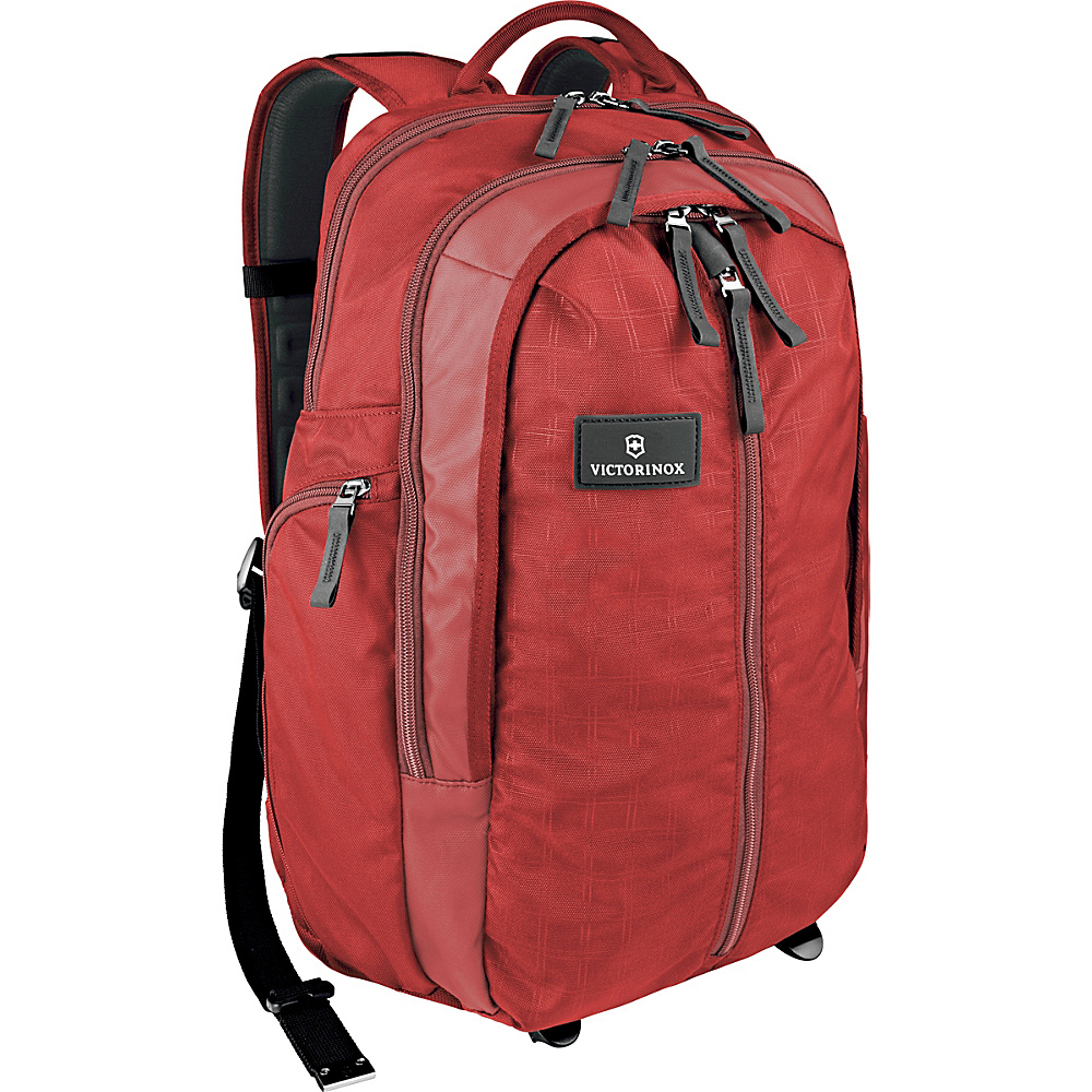 Victorinox Altmont 3.0 Vertical Zip Laptop Backpack Red Victorinox Business Laptop Backpacks