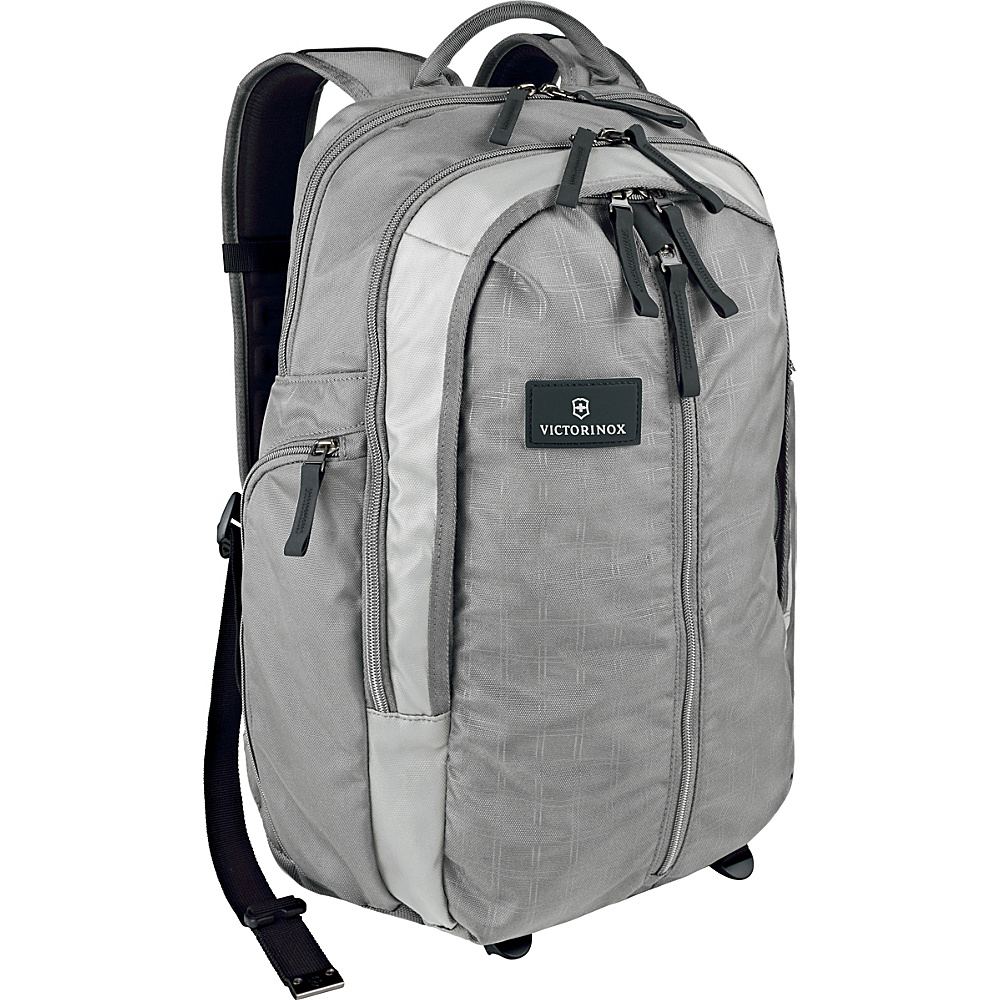 Victorinox Altmont 3.0 Vertical Zip Laptop Backpack Gray Victorinox Business Laptop Backpacks