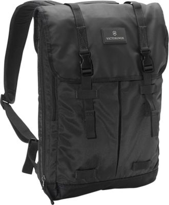 Victorinox Altmont 3.0 Flapover Laptop Backpack Black - Victorinox Business & Laptop Backpacks