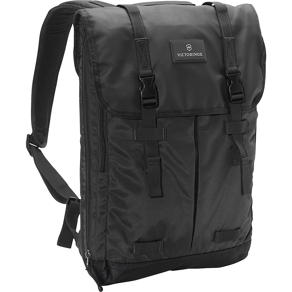Victorinox Altmont 3.0 Flapover Laptop Backpack Black Victorinox Business Laptop Backpacks