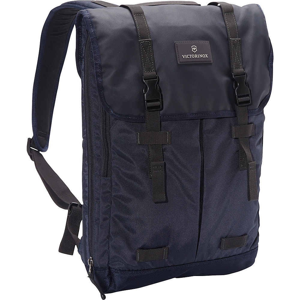 Victorinox Altmont 3.0 Flapover Laptop Backpack Blue Victorinox Business Laptop Backpacks