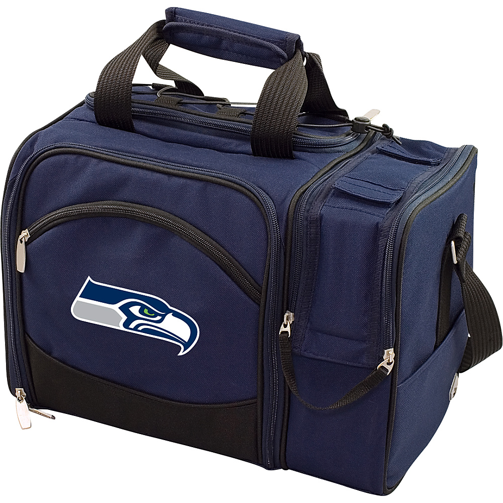 Picnic Time Seattle Seahawks Malibu Insulated Picnic Pack Seattle Seahawks Navy - Picnic Time Outdoor Coolers - Outdoor, Outdoor Coolers