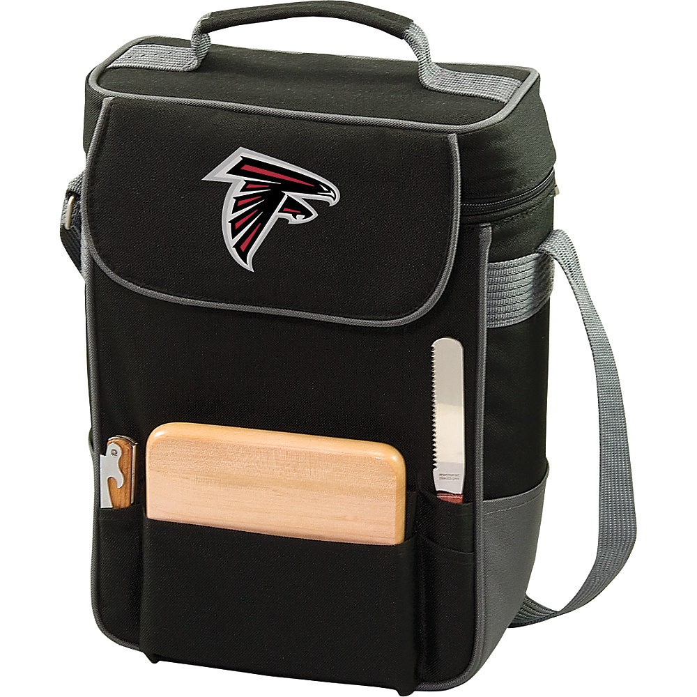 Picnic Time Atlanta Falcons Duet Wine & Cheese Tote Atlanta Falcons - Picnic Time Outdoor Coolers - Outdoor, Outdoor Coolers