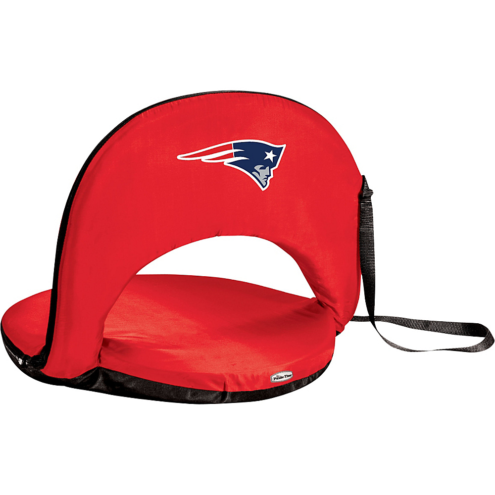 Picnic Time New England Patriots Oniva Seat New England Patriots Red - Picnic Time Outdoor Accessories - Outdoor, Outdoor Accessories