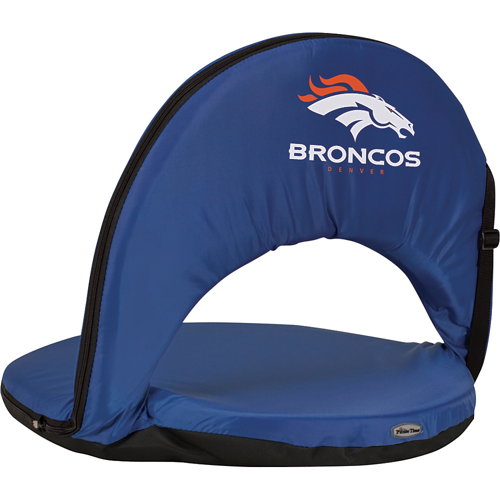 Picnic Time Denver Broncos Oniva Seat Denver Broncos Navy - Picnic Time Outdoor Accessories - Outdoor, Outdoor Accessories