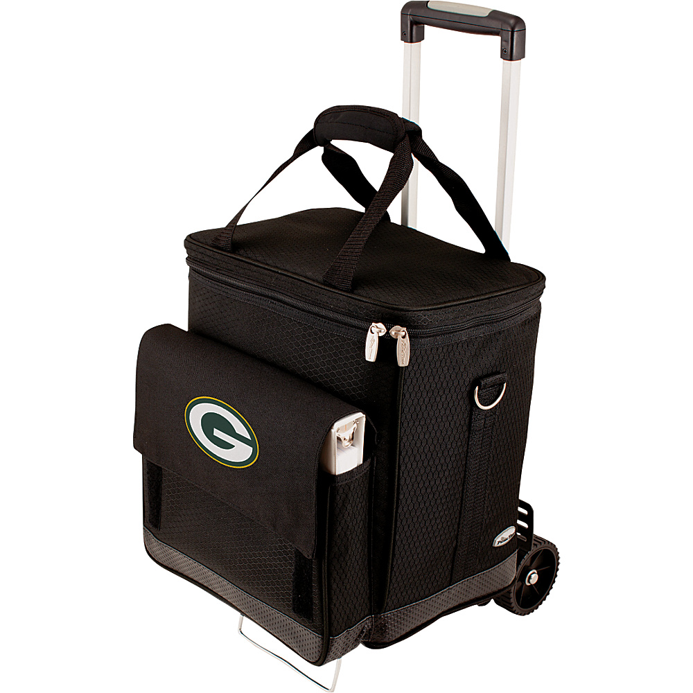 Picnic Time Green Bay Packers Cellar w/Trolley Green Bay Packers - Picnic Time Outdoor Coolers - Outdoor, Outdoor Coolers