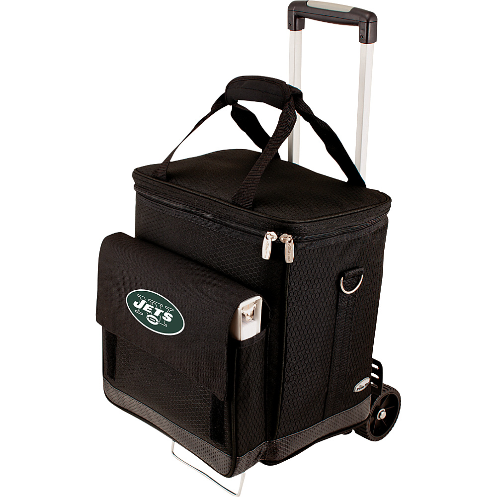 Picnic Time New York Jets Cellar w/Trolley New York Jets - Picnic Time Outdoor Coolers - Outdoor, Outdoor Coolers