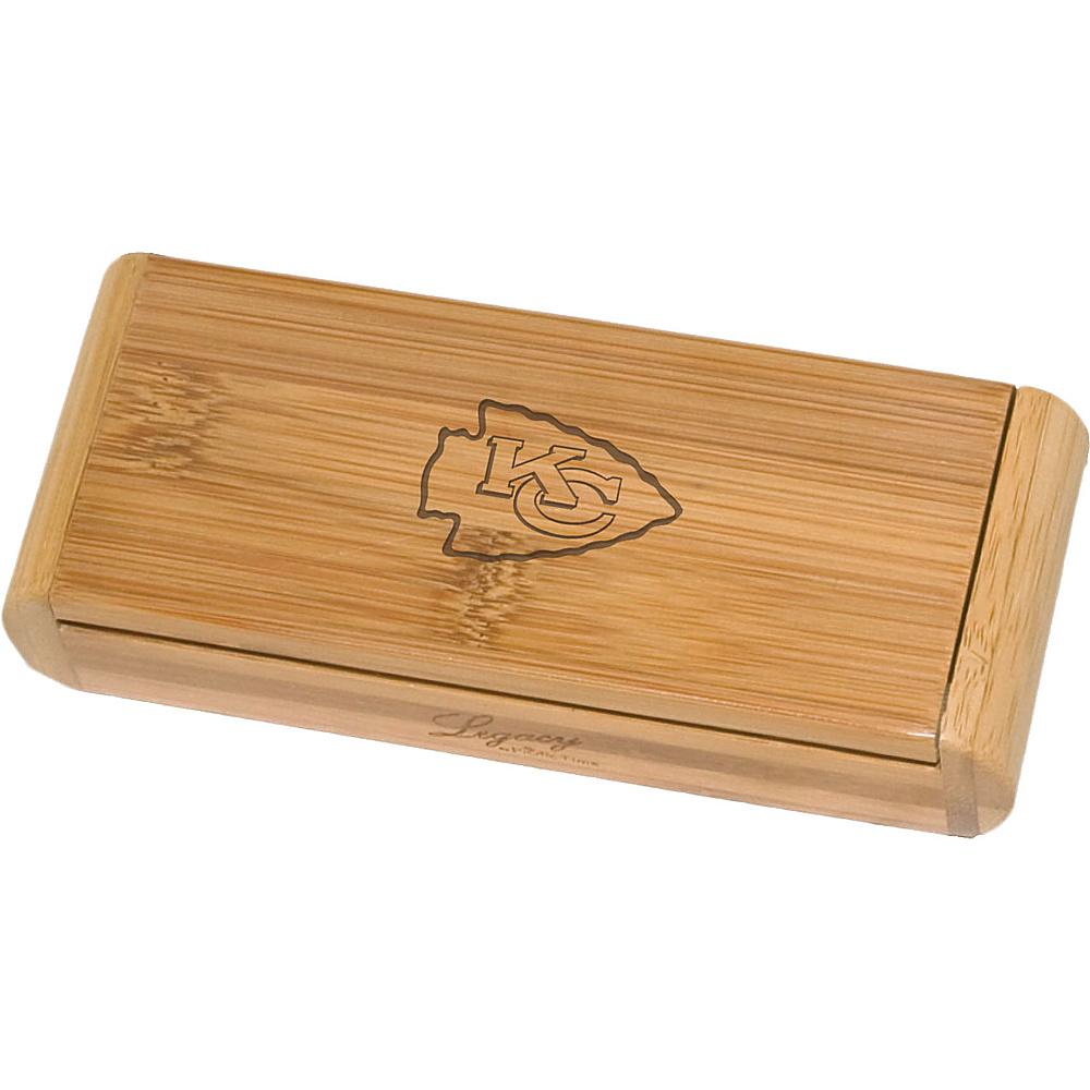 Picnic Time Kansas City Chiefs Elan Bamboo Corkscrew Kansas City Chiefs - Picnic Time Outdoor Accessories - Outdoor, Outdoor Accessories