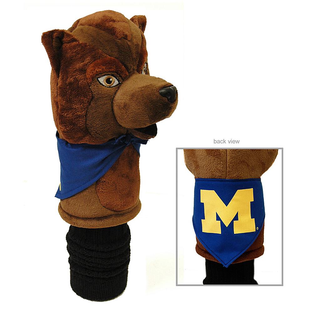 Team Golf USA University of Michigan Wolverines Mascot Headcover Team Color - Team Golf USA Golf Bags