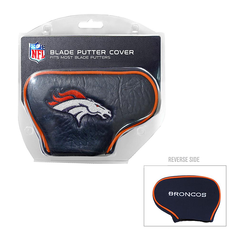 Team Golf USA Denver Broncos Blade Putter Cover Team Color - Team Golf USA Golf Bags