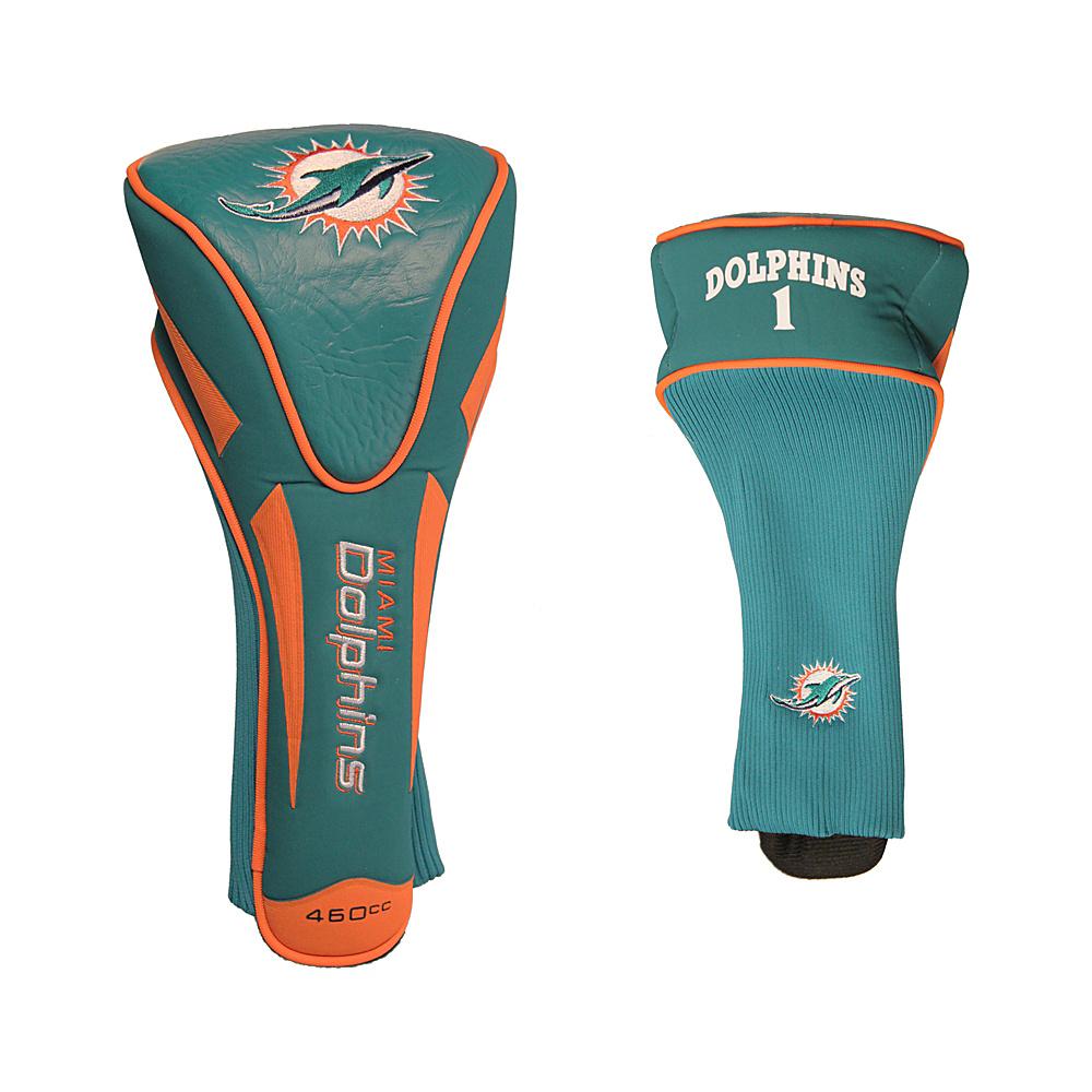 Team Golf USA Miami Dolphins Single Apex Headcover Team Color - Team Golf USA Golf Bags