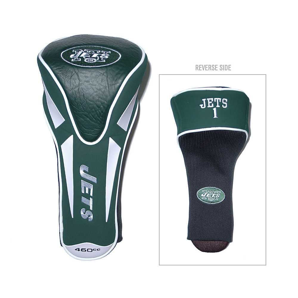 Team Golf USA New York Jets Single Apex Headcover Team Color - Team Golf USA Golf Bags