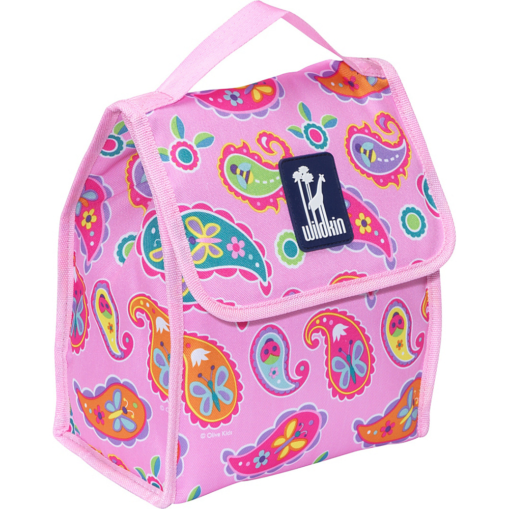Wildkin Olive Kids Lunch Bag Olive Kids Paisley - Wildkin Travel Coolers - Travel Accessories, Travel Coolers