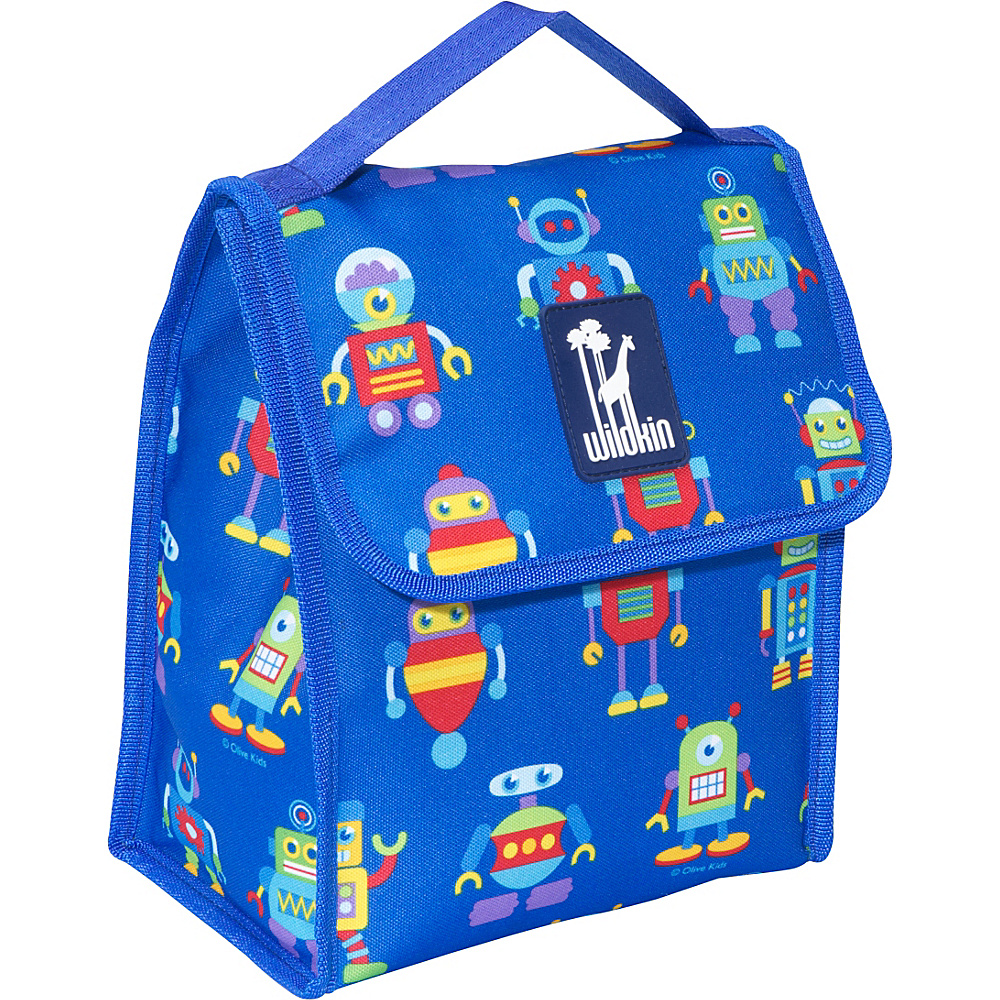 Wildkin Olive Kids Lunch Bag Olive Kids Robots - Wildkin Travel Coolers - Travel Accessories, Travel Coolers
